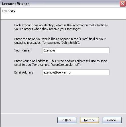 Configurare client de mail Mozilla Thunderbird
