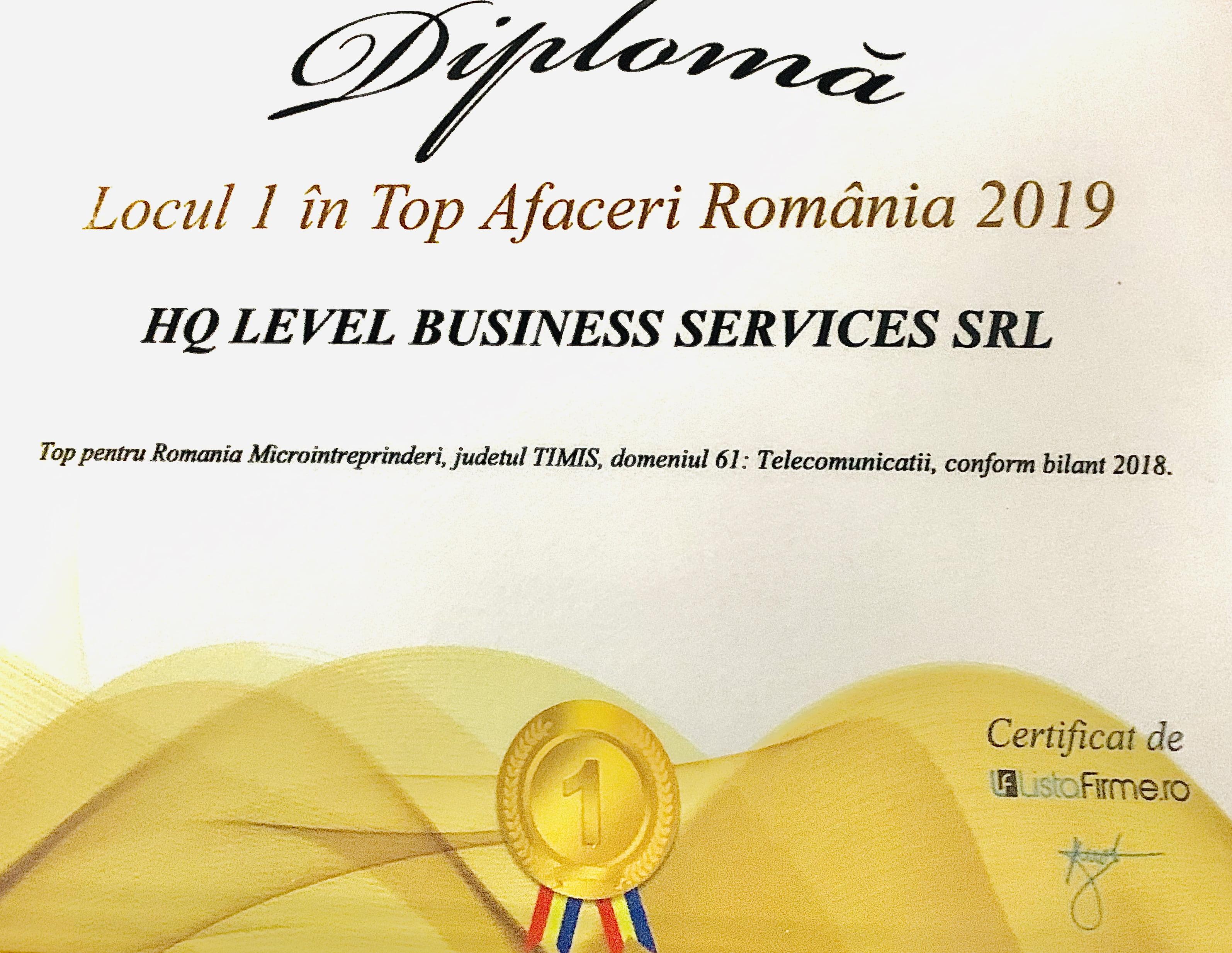Top  Afaceri România 2019